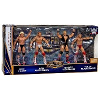 The Four Horsemen Hall of Fame WWE Elite 4 pack figures Ric Flair Arn Anderson Barry Windham Tully...