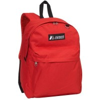 Everest 2045CR-RD 16.5 in. Classic Backpack
