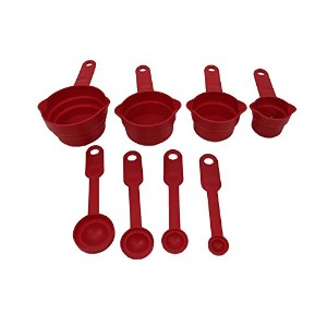 キッチンコレクション8-pc Measuring Cup Set – Assorted Colors 04909