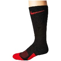 ナイキ メンズ バスケットボール【Dry Elite 1.5 Crew Basketball Sock】Black/University Red/University Red