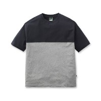 【BASECONTROL (ベースコントロール)】【MADE IN JAPAN】40/2コーマ天竺バイカラーTメンズ トップス|カットソー・Tシャ...