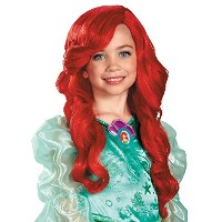 Disney Kids Ariel Wig ディズニーキッズアリエルウィッグ♪ハロウィン♪クリスマス♪One-Size