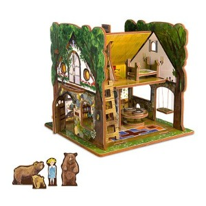 [ストーリータイムトイズ]STORYTIME TOYS Goldilocks and the Three Bears Toy House and Storybook Playset...