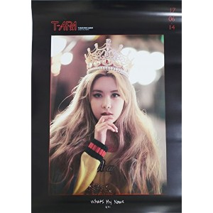 【公式ポスター】 ティアラ T-ARA TIARA - What's my name? (EP) [QRI ver.] OFFICIAL POSTER サイズ 52 x 72 cm ...