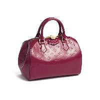 【1%OFF】【USED】LOUIS VUITTON モノグラム・ヴェルニ モンタナ ハンドバッグ ピンク 旅行用品 > その他