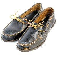 【SALE 24900円の50%OFF】【送料無料】【デッドストック】40'S INDIAN SOLE MOCCASINS SHOES [US7.5] (インディアンソール モカシンシューズ)【中古】