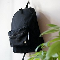 【FRED PERRY】Pique Backpack(ブラック) [F9239]