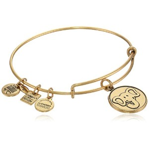 "Alex and Ani "" Charity by Design "" The Elephant Expandable Wire Bangle Bracelet , 7.75 "" One Size"