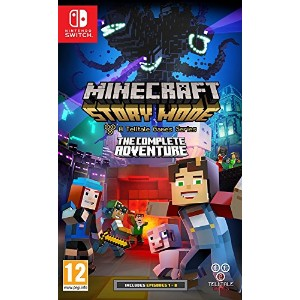 Minecraft Story Mode: The Complete Adventure (Nintendo Switch) (輸入版)