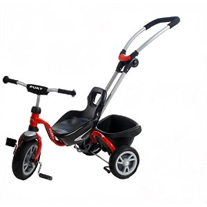 PUKY プッキー 三輪車  シーティ・レッド CEETY RED CITY TRICYCLE [並行輸入品]
