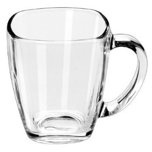 Libbey Tempo 4 Piece Glass Mugs by Libbey