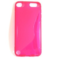 mobee iPod Touch 第5世代 TPUケース ウェーブ ライトピンク tpu case for iPodtouch