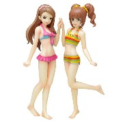WAVE TFC BEACH QUEENS 「THE IDOLM@STER」 1/10 水瀬 伊織&高槻 やよい【限定セットVer.】