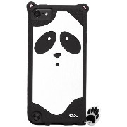 Case-Mate 日本正規品 iPod touch 5th 6th Generation 共用 CREATURES: Xing Panda Case, Black クリーチャーズ: パンダ 星星 (シンシ...