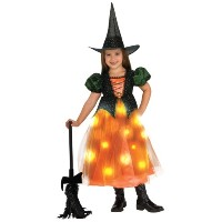 【Twinkle Witch Toddler/Child Costume きらめきの魔女幼児/子供コスチューム♪ハロウィン♪サイズ:Toddler (2T-4T)】
