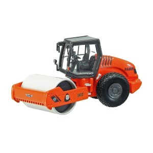 HAMM 3412HT compactor with cabin and flat roller /NZG 1/50 建設機械模型