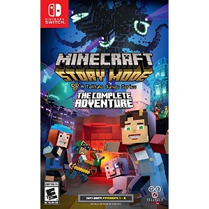 Minecraft: Story Mode - The Complete Adventure (輸入版:北米) - Nintendo Switch ニンテンドー スイッチ マインクラフト...