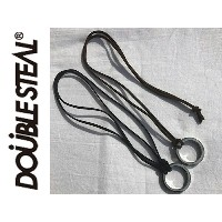 DOUBLE STEAL ダブルスティール DOUBLESTEAL 革ひも レザー リング SILVER RING NECKLES ネックレス 437-90209 アクセサリ メール便対応
