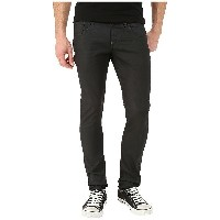 ジースター メンズ デニムパンツ ボトムス Revend Super Slim in Black Pintt Stretch Denim 3D Dark Aged Black Pintt...