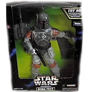 Star wars スターウォーズ アクションフィギュア Electronic Talking BOBA FETT 12インチ Action Figure (1998 Kenner)