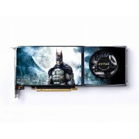 ZOTAC GeForce GTX285 BATMAN Edition 1GB 512BIT DDR3 ZT-285E3LB-BAT MAC版 PCI-e 6ピン変換コネクタ付【中古】 ...