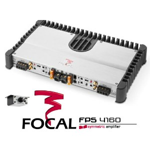 FOCAL フォーカル FPS4160 定格出力120W×4chステレオパワーアンプ 【受注発注商品/納期1〜2ヶ月】