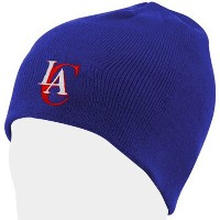NBA チームロゴ カフレス ニットキャップ クリッパーズ(ブルー) adidas Los Angeles Clippers Royal Blue Knit Beanie Cap