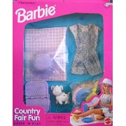 Barbie バービー 衣装セット COUNTRY FAIR FUN Dress 'N Play FASHIONS & Accessories Playset (1996 Arcotoys,...