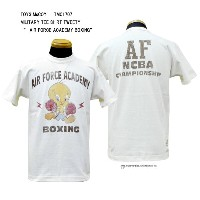 "TOYS McCOY (トイズマッコイ) MILITARY TEE SHIRT TWEETY"" AIR FORCE ACADEMY BOXING"" TMC1707「P」メンズ アメカジ 男性..."