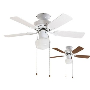2WAY USE TRADITIONAL CEILING FAN LIGHT WH(002952) 軽量 簡易取付 メルクロス 北欧 シーリングファン ライト 【XCE-004】