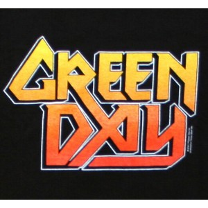 Green Day / Metal God Tee (Black)