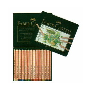 Faber-Castell ピットパステル鉛筆 24色セット