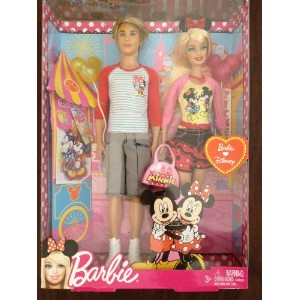 Ken and Barbie ケン バービー ディズニー Going to Disney