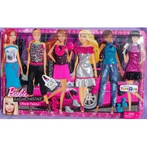 Barbie バービー 着せ替え 洋服 fashion clothes - ultimate gift set 6 outfits