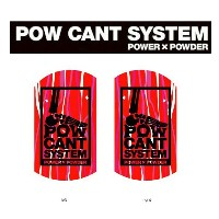 ★『POW CANT SYSTEM/パウカント システム』【CANT PLATE/カントプレート】カラー:RED MARBLE/BLACK★メール便配送致します※代引き・宅急便選択の方は通常配送料とな...