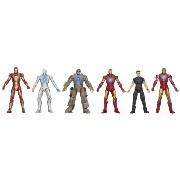 Iron Man 3 アイアンマン3 アクションフィギュア Marvel Hall of Armor Collection Action Figure