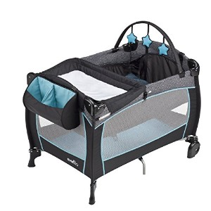 Evenflo Portable Babysuite Deluxe Playard, Koi by Evenflo [並行輸入品]