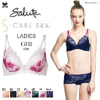 25%OFF【送料無料】 (ワコール)Wacoal (サルート)Salute series77 Salute Timeless Collection S-CARE BRA 3/4カップブラ GHI(4