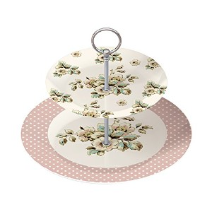 Cottage Flower Cake Stand