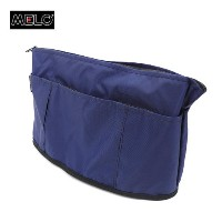 MELO(メロ) SMALL OVAL SHAPED BAG MIDNIGHT(NAVY)