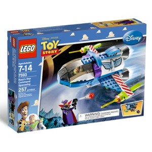 Lego 7593 レゴ トイストーリー バス Buzz's Star Command Space