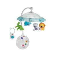 Fisher-Price フィッシャープライス プレシャスプラネット 2-in-1 Projection Mobile, Precious Planet