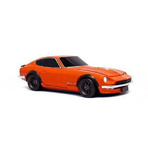 [Cassette Car Mouse]日産フェアレディ 240Z(NISSAN Fairlady Z) ソリッドオレンジ  ワイヤレスマウス
