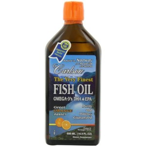 Carlson Labs Very Finest Liquid Fish Oil, Orange, 500ml by Carlson Laboratories