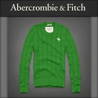 【20%OFFセール 7/22 10:00〜7/25 9:59】 アバクロ Abercrombie&Fitch 正規品 メンズ セーター Phelps Trail Sweater GREEN