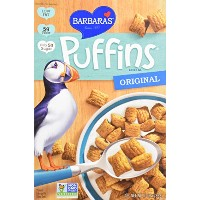 Barbara's Bakery, Puffins Cereal, Honey Rice, 10 oz (283 g)