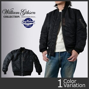 "Buzz Rickson's(バズリクソンズ) ""WILLIAM GIBSON COLLECTION"" BLACK MA-1 SLENDER LONG (ブラック MA1 スレンダー ロング) ..."