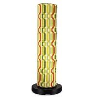 Patio Living Concepts 64850 PatioGlo New Twist Seaweed Fabric Cover LED Floor Lamp, Bright White by...
