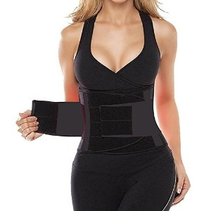 Camellias Womens Waist Trainer Belt Body Shaper Belly Wrap Weight Loss Training Corset Cincher Trimm
