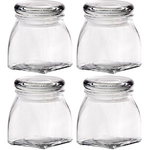 Home Essentials 4ozガラスSpice Jars – 4のセット